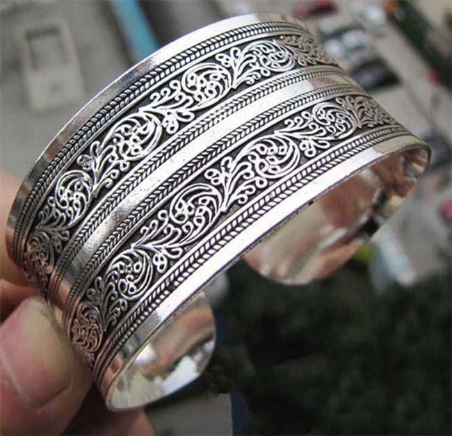 bracelet argent maroc tibet