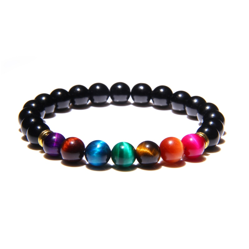 Bracelet Reiki des 7 Chakras Guérison et Équilibre