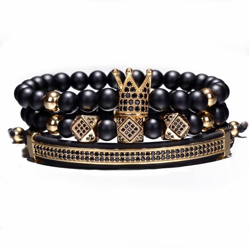 bracelet luxe en perles homme femme pierres naturelles