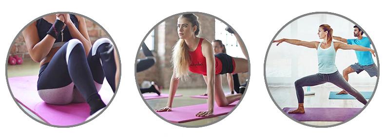 Tapis de yoga épais de qualité