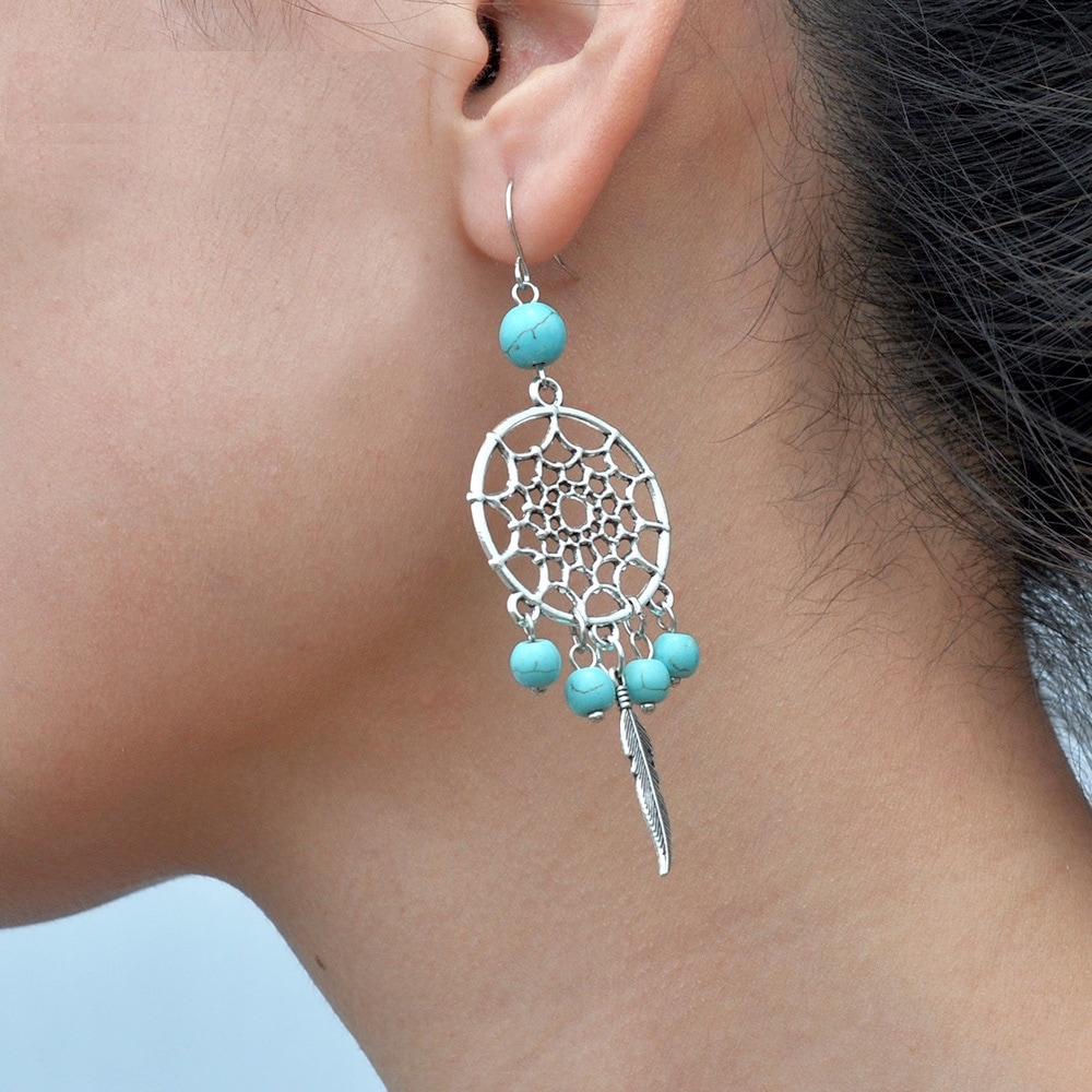 Boucles d\'oreille Dream Catcher