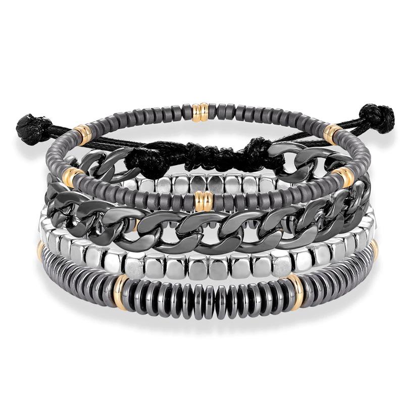 Bracelets Pierres et Métal