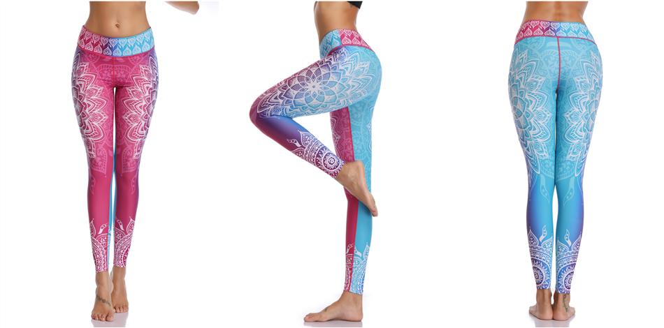 Leggings Mandala Design High Quality