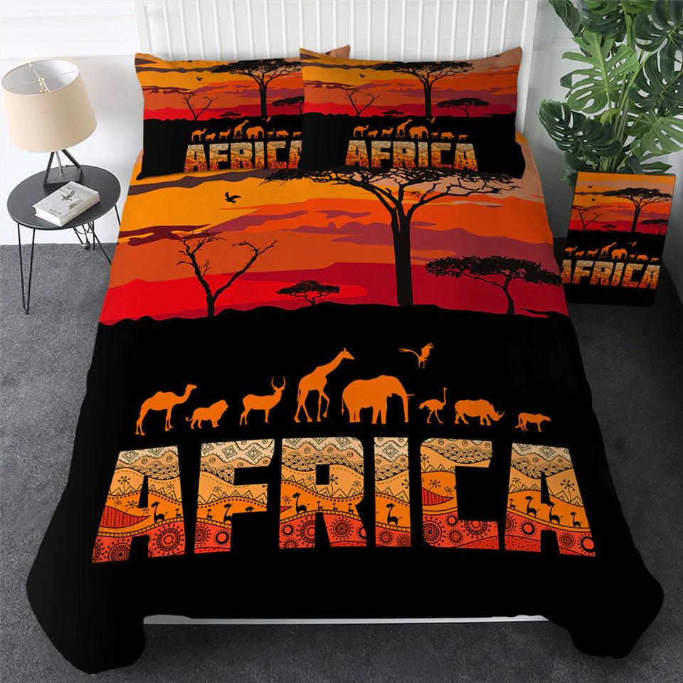 Parure de lit Africa Serengeti