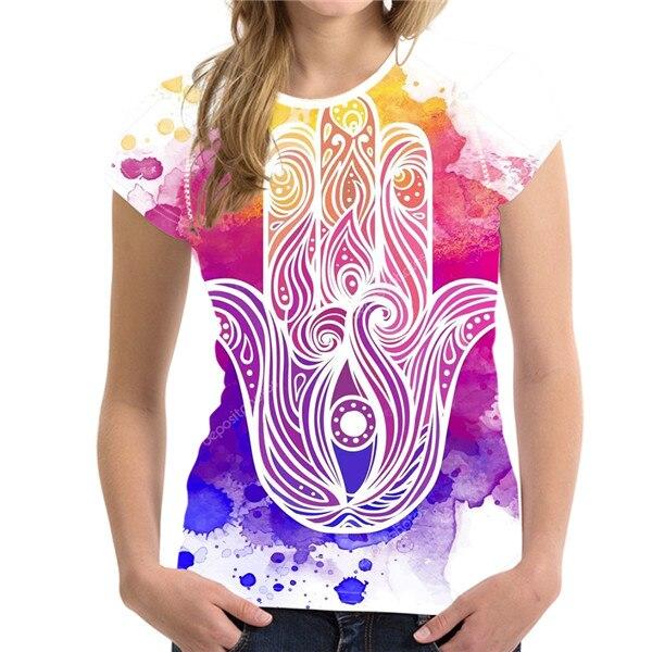 T-Shirt Femme Hamsa Energy Khamsa