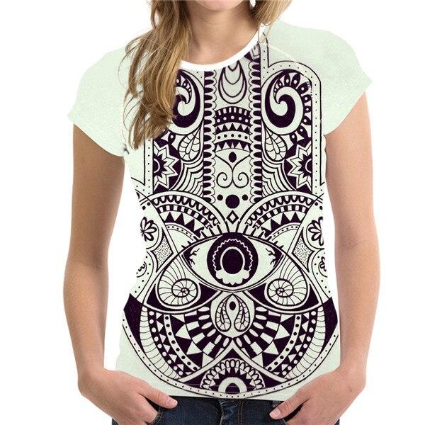 T-Shirt Femme Hamsa Tahiti