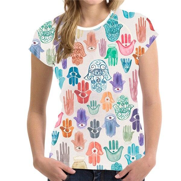 T-Shirt Femme Hamsa Energy Artiste