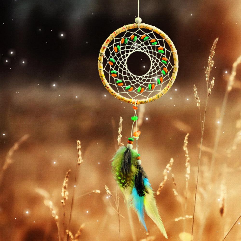 attrape rêves capteur de rêves et de lumière dreamcatcher