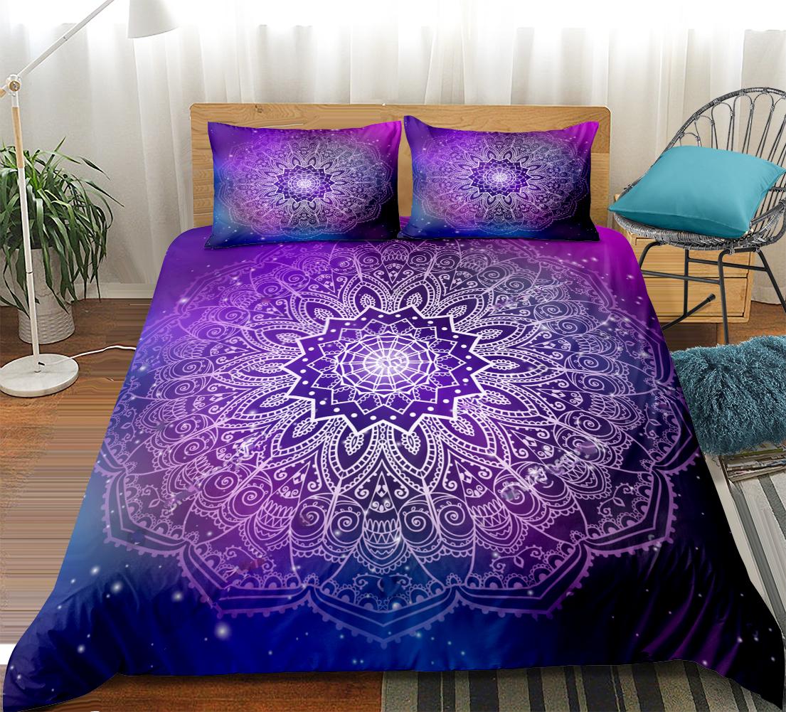 Parure de lit Purple Mandala