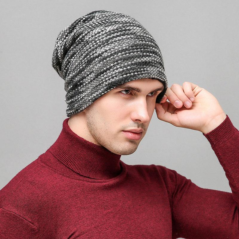 Bonnet de Laine gris