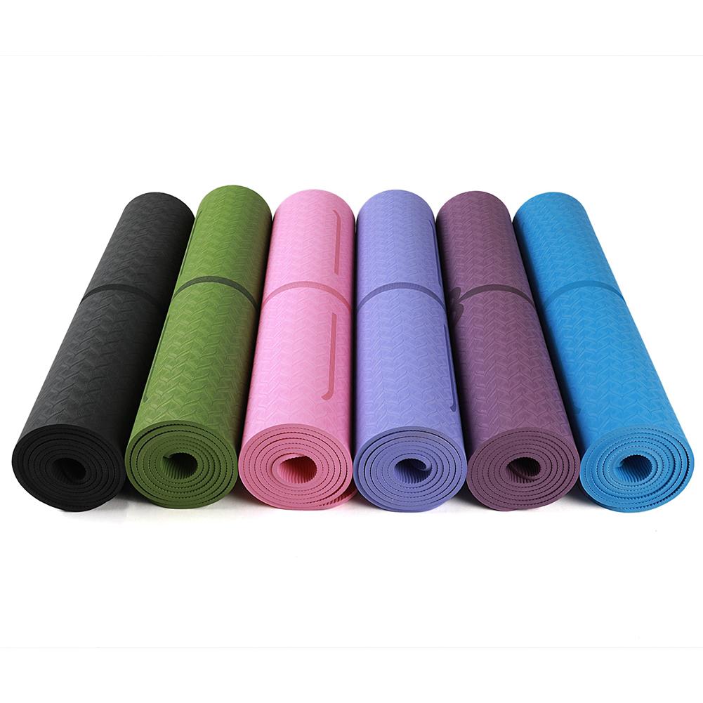 Tapis de Yoga épais, tapis de sport de chambre, Gymnastique