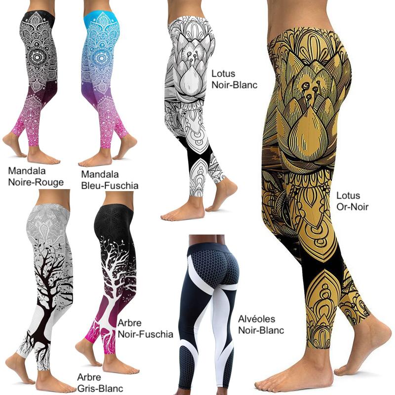 Leggings Femme Sport and Design