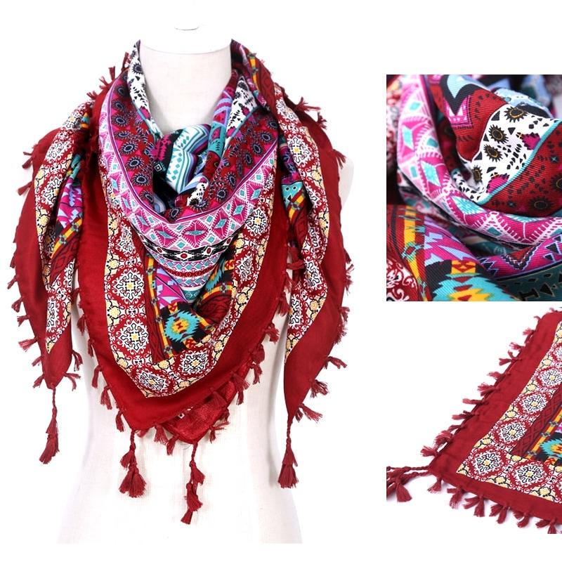 Foulard Karachi coton