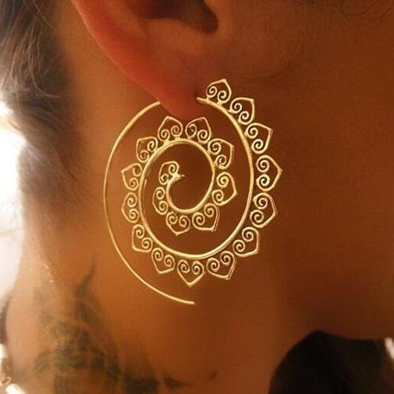 Boucles d\'oreille Coeurs en or