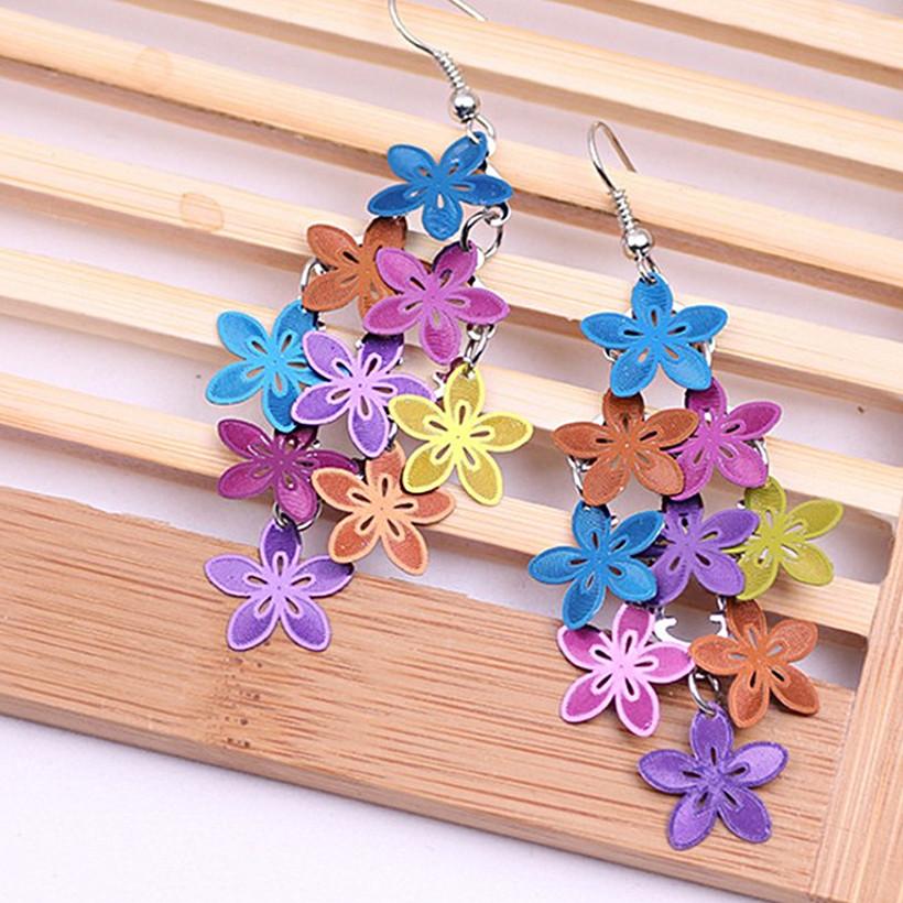 Boucles d\'oreille Bouquet de Fleurs