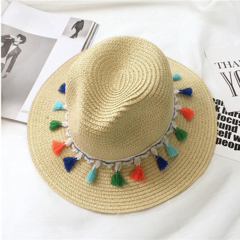 chapeau de plage en paille
