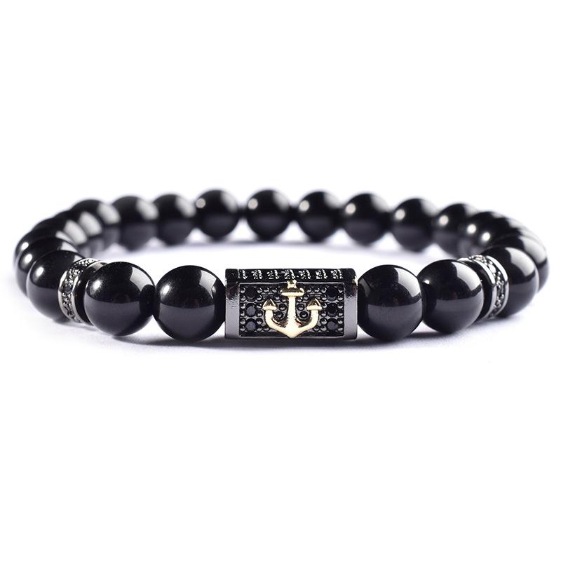 Bracelet Perles CYLINDRIC Homme
