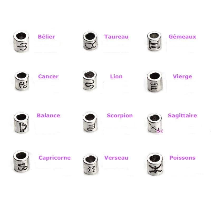 Bracelet des signes du zodiaque pour homme et femme