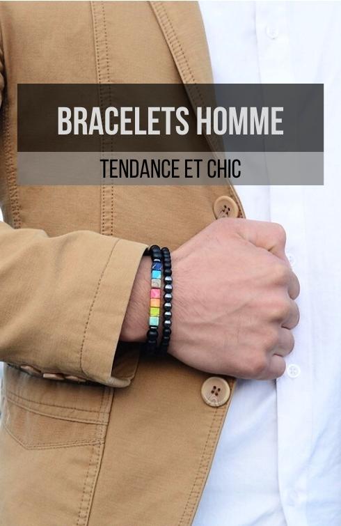 bracelet homme tendance et chic