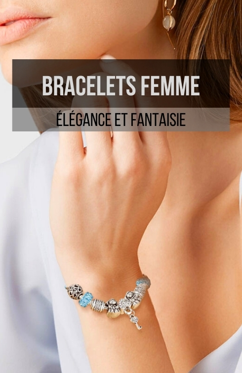 bracelets femme fantaisie et élégance