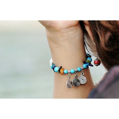 Bracelet Blue Charming 1