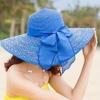 Chapeau de soleil souple IPANEMA bord large plage anti uv
