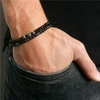 Bracelet Homme perles fines en pierres TEMPERAMENT