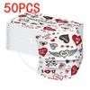 Les LOVE Masques par 50 pièces