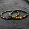 Bracelet 2 pièces Porte-Bonheur Buddha