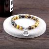 Bracelets de la Protection Oeil de Tigre GoHappy