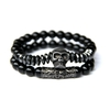 Bracelet Duo Black Pirates