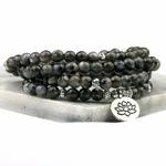 Bracelet MALA 108 perles noir