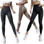 Leggings femme Fitness sans couture et opaque 1