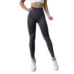 Leggings femme Fitness sans couture et opaque 3