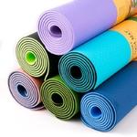 Tapis de yoga fitness gym épais 6mm 183cm