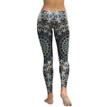 Legging Sport Gym Yoga Beautiful Mandala 1