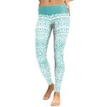 Legging Sport Gym Yoga Turquoise Mandala 3