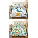 parure de lit enfant dinosaure