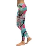 Legging Sport Gym Yoga Cherry Blossom 1