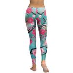 Legging Sport Gym Yoga Cherry Blossom 2