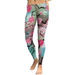 Legging Sport Gym Yoga Cherry Blossom 3