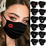 Masques Ado-Adultes 50pcs BLACK REBELS