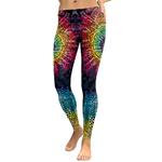 Legging Sport Gym Yoga Super Mandala Rainbow 2