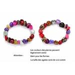 Bracelet de Perles Agates 1