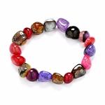 Bracelet de Perles Agates 4
