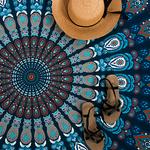 Serviette de Plage Mandala Yoga 2