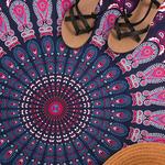 Serviette de Plage Mandala Méditation 2