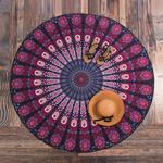 Serviette de Plage Mandala Méditation 3