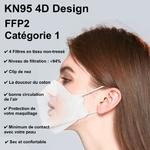Masques Adultes FFP2 de Type POISSON 14 copie