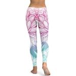 Legging Sport Gym Yoga Fleur de Lotus 2